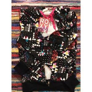 NWT Roxy zip up